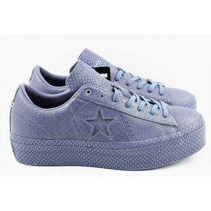 Converse One Star Women Sz 6.5 Platform OX 559901c